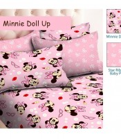 sprei katun panca / cvc minnie dool up
