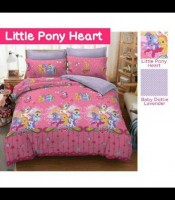 sprei katun panca / cvc little pony heart