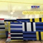 Sprei Katun panca - CVC motif magic cube