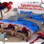 Sprei Katun Panca - CVC Motif Spiderman far from home