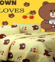 SPREI MOTIF BROWN LOVER